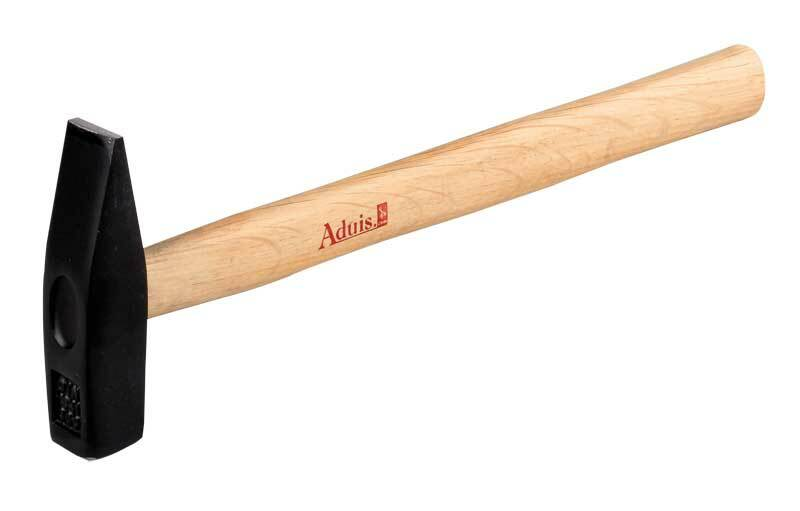 Bankhamer Aduis met houten steel, 200 g