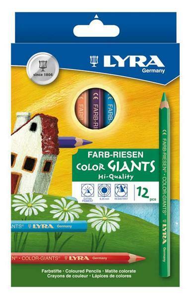 Lyra Farb-Riese - 12 Stk., lackiert