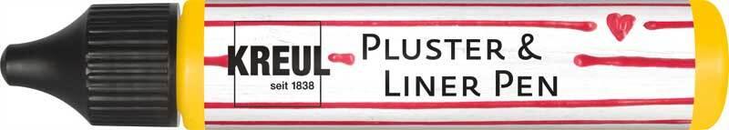 Pluster & Liner Pen - 29 ml, sonnengelb