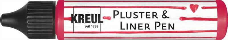 Pluster & Liner Pen - 29 ml, rubinrot