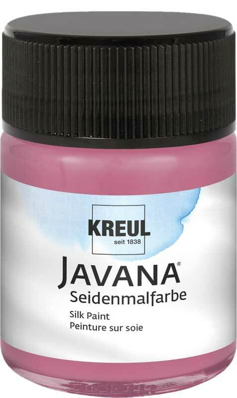 Javana Seidenmalfarbe - 50 ml, bordeaux