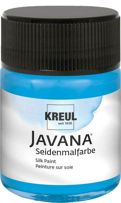 Javana Seidenmalfarbe - 50 ml, blau