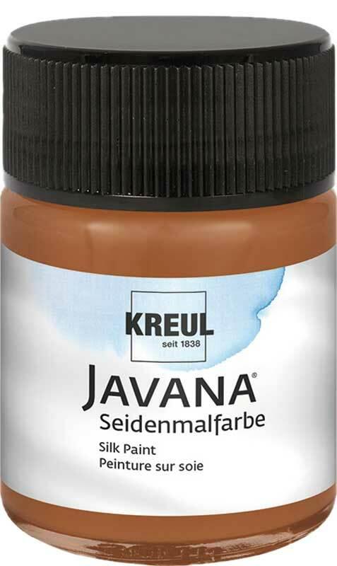 Javana Seidenmalfarbe - 50 ml, braun