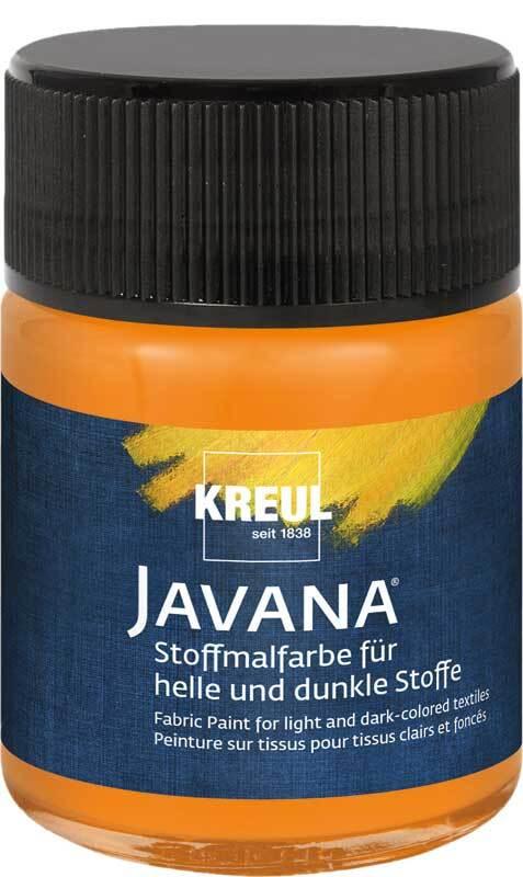 Javana Stoffmalfarbe opak - 50 ml, orange