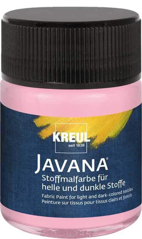 Javana Stoffmalfarbe opak - 50 ml, rosé