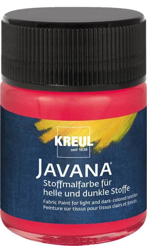 Javana Stoffmalfarbe opak - 50 ml, cherry