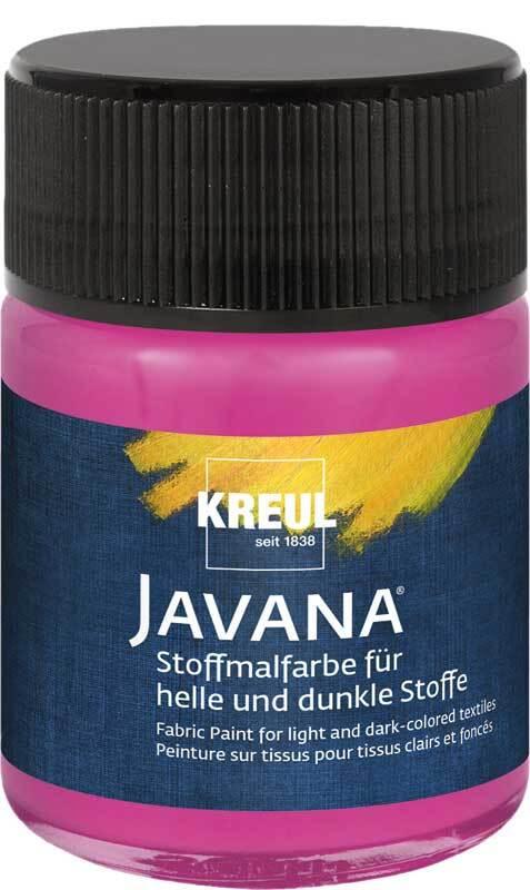 Javana textielverf opaak - 50 ml, magenta
