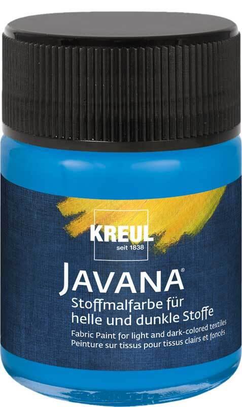 Javana textielverf opaak - 50 ml, blauw