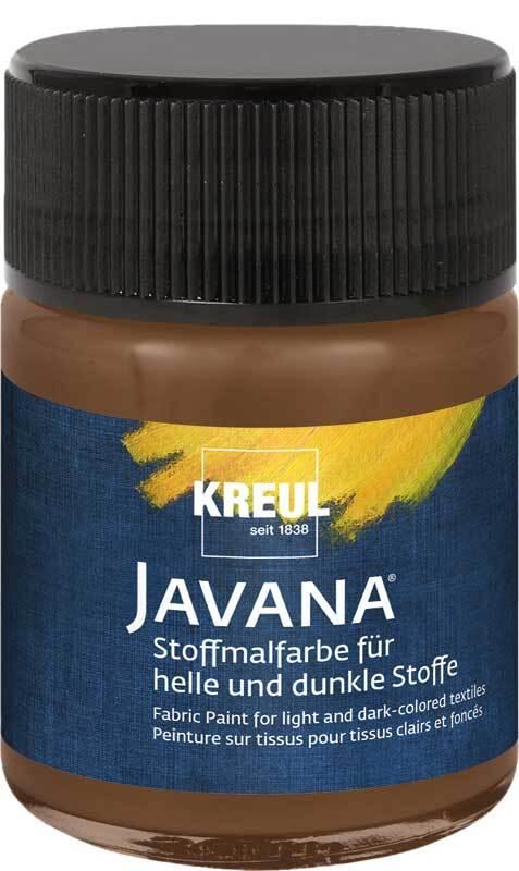 Javana Stoffmalfarbe opak - 50 ml, rehbraun