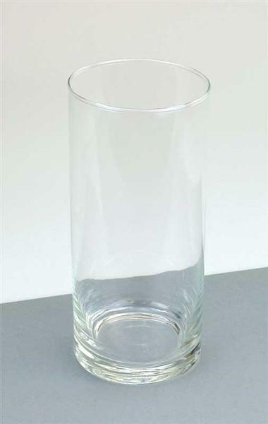 Glasvase - rund, 20 cm