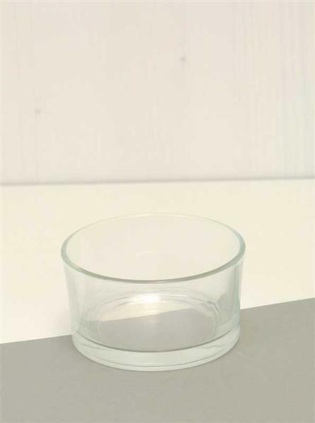 Coupe en verre, 4,5 x Ø 8,5 cm