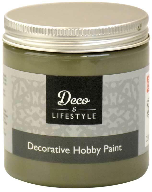 Krijtverf - 230 ml, olive