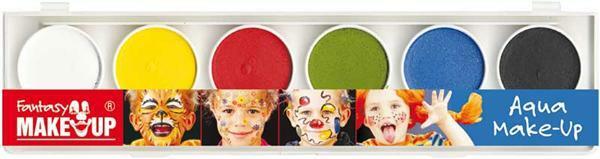 Schminkfarben, 6 Farben