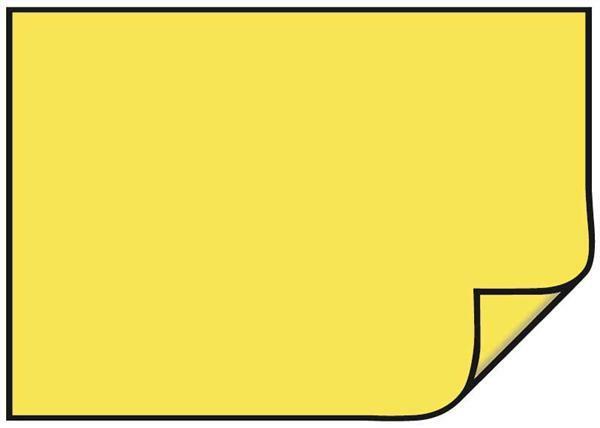 Fotokarton - 10 st./pak, 50 x 70 cm, citroengeel