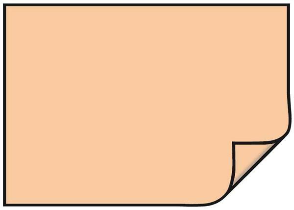 Fotokarton - 10 st./pak, 50 x 70 cm, abrikoos