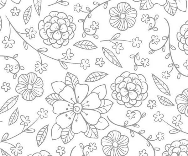 Zauberpapier - A4, Blüten