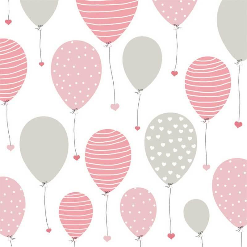 Servietten - 20 Stk./Pkg., Lovely Ballon