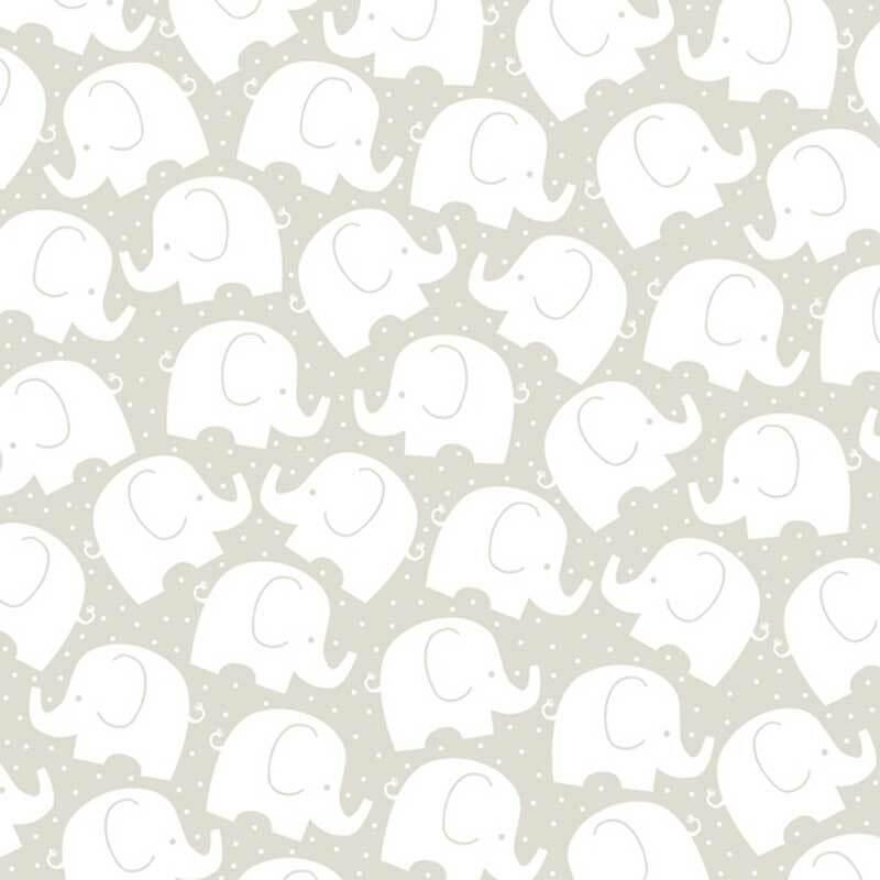 Serviettes - 20 pces, Babyfant sable