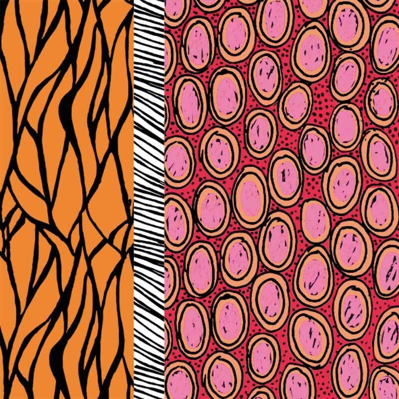 Servetten - 20 st./pak, Kenia oranje