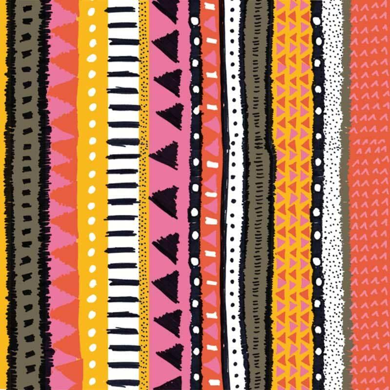 Servietten - 20 Stk./Pkg., Sansibar orange