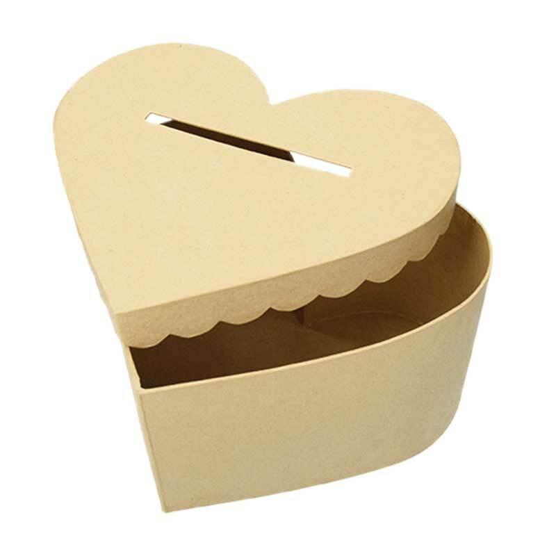 Boîte en papier mâché - cartes de vœux