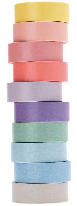 Set Washi Tape - Tons pastels