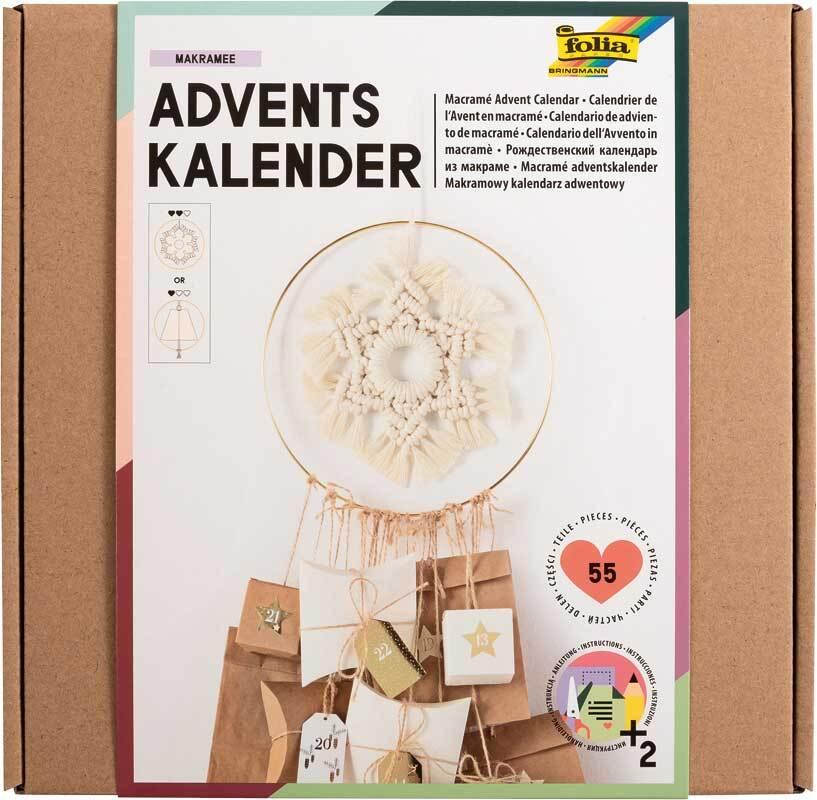 Adventskalender Set - Makramee