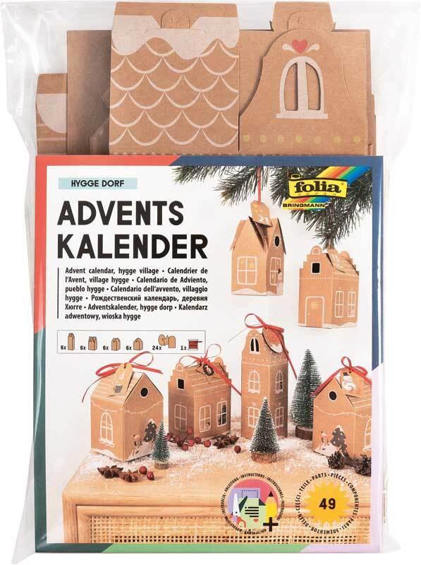Adventskalender Set - Hygge Dorf