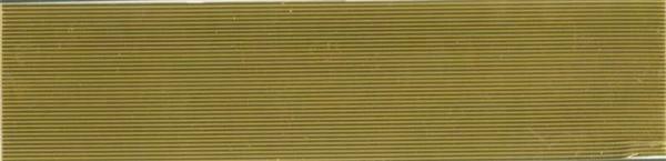 Verzierwachsstreifen flach - 1 mm, gold