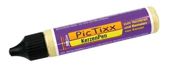 PicTixx Kerzenpen - 29 ml, gold