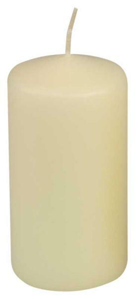 Bougie cylindrique - 100 x 50 mm, ivoire