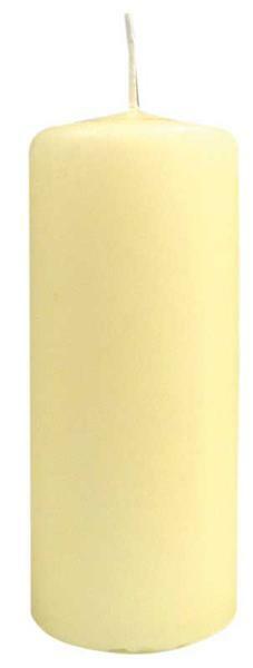 Bougie cylindrique - 150 x 60 mm, ivoire