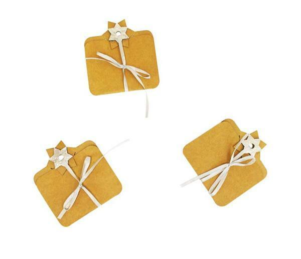Carton-cadeaux - 3 pces, argent