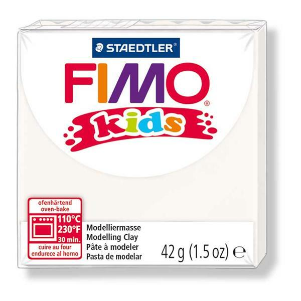 Fimo kids - 42 g, weiß