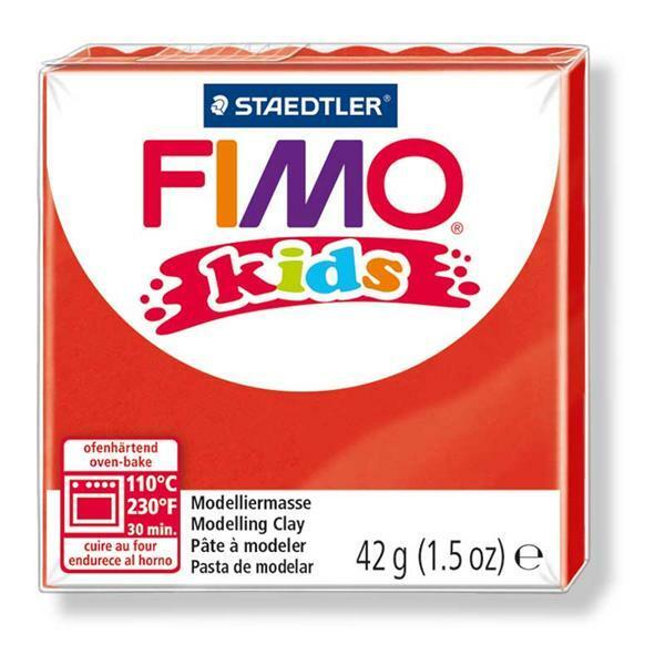 Fimo kids - 42 g, rot