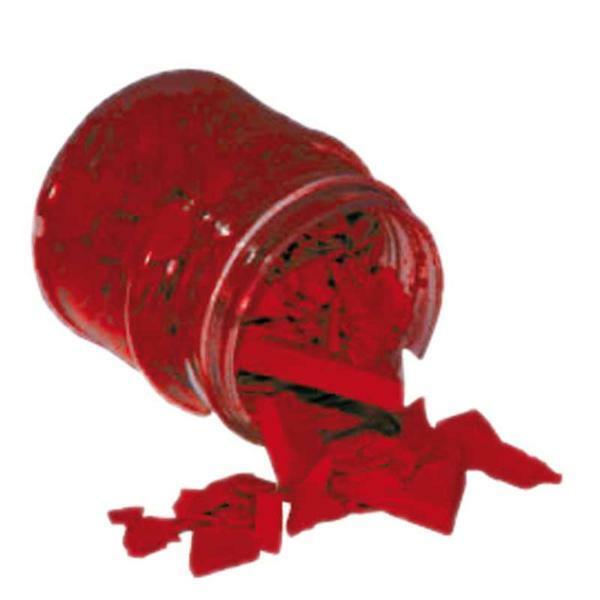 Wachspigmente - 20 g, dunkelrot