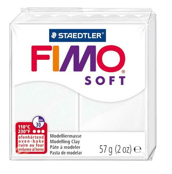 Fimo Soft - 57 g, weiß