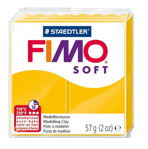 Fimo Soft - 57 g, zonnegeel