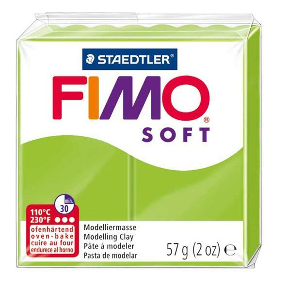 Fimo Soft - 57 g, vert pomme