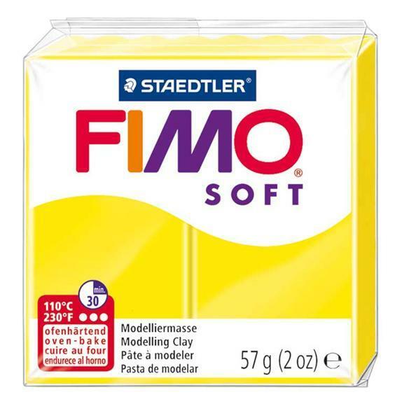 Fimo Soft - 57 g, limoen