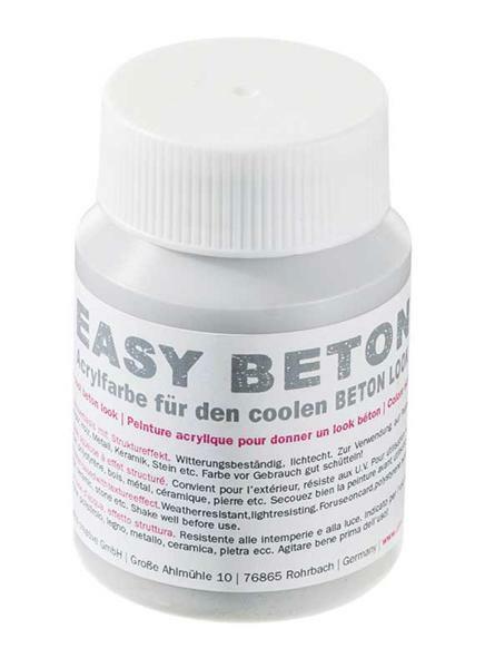 Easy Beton Acrylfarbe, 100 ml