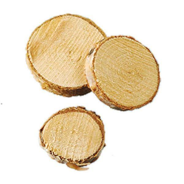 Rondelles en bois - Ø 1-3 cm, 200 g