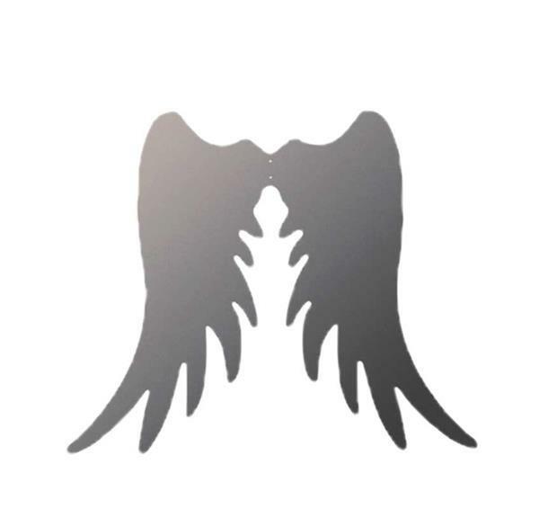 Ailes d'anges métal - 13 x 11 cm / 3 mm