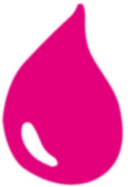 Marmorierfarbe - 20 ml, neonpink