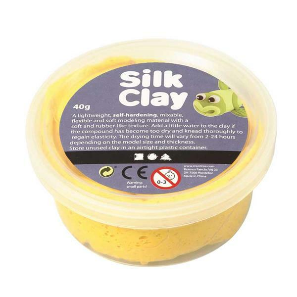 Silk Clay ® - 40 g, gelb