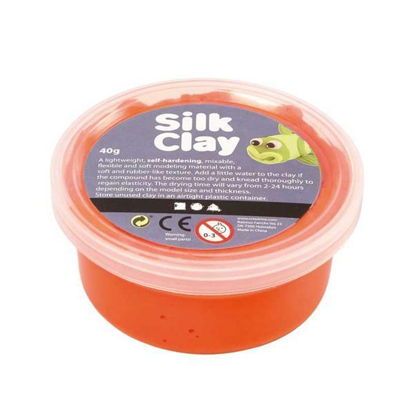 Silk Clay ® - 40 g, orange