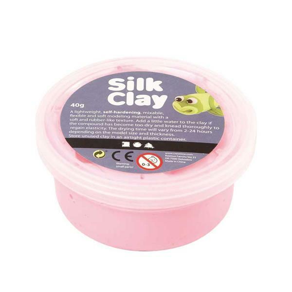 Silk Clay ® - 40 g, pink