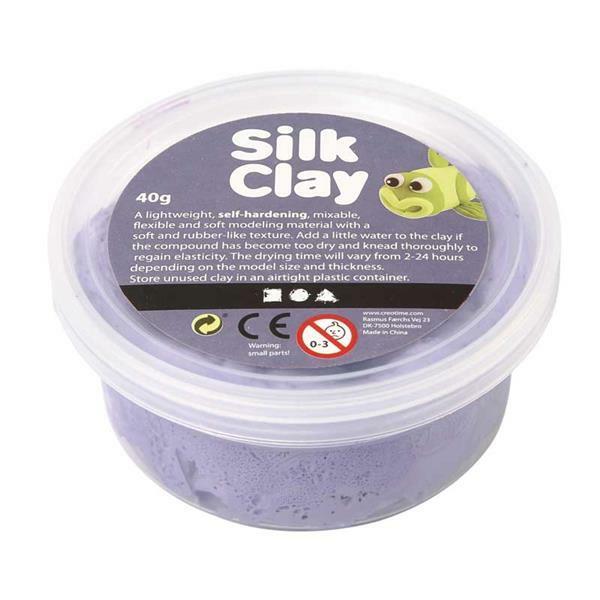 Silk Clay ® - 40 g, lila