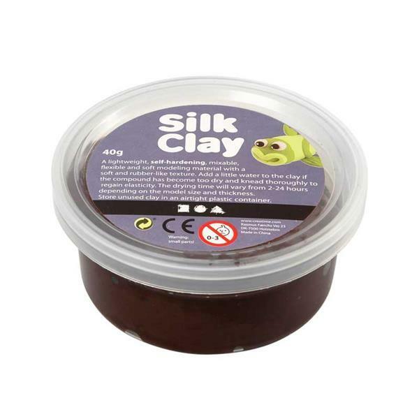 Silk Clay ® - 40 g, brun