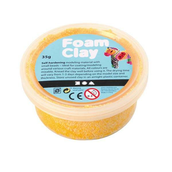 Foam Clay ® - 35 g, gelb